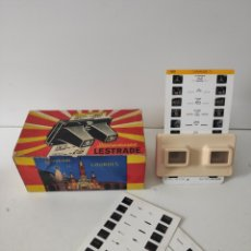 Antiquités: STEREOSCOPE LESTRADE.. Lote 216550507