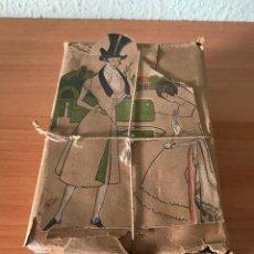 Antigüedades: PAQUETE SELLADO DE ZINCOGRABADO O CLICHE PARA IMPRESIÓN DE 1920/30 (SASTRERÍA BARALDÉS, BARCELONA). Lote 216691231