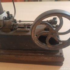 Antiquités: MAQUETA MÁQUINA DE VAPOR EN SU ESTADO. FINALES DEL XIX O PRINCIPIOS DE XX. Lote 216694426