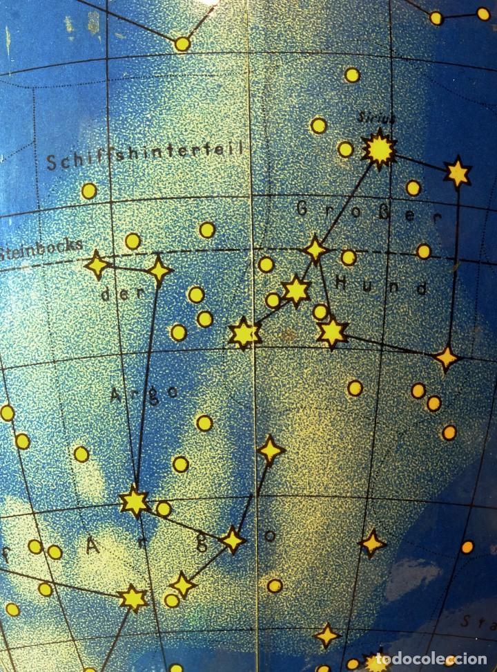 Antigüedades: 1959ca - Antiguos Globo terráqueo y celeste - Estilo Bauhaus/Art decó - 19cm. de diámetro - Foto 4 - 216705871
