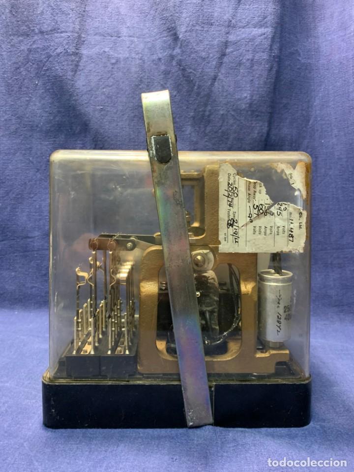 TELEFONIA TELEFONO RELE RELAY MOTOROLA AÑOS 70 24X20X16CMS (Antigüedades - Técnicas - Teléfonos Antiguos)
