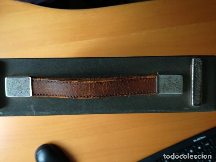 Antigüedades: Máquina de escribir portatil hermes baby en su maletin, años 30 - Foto 8 - 216869633
