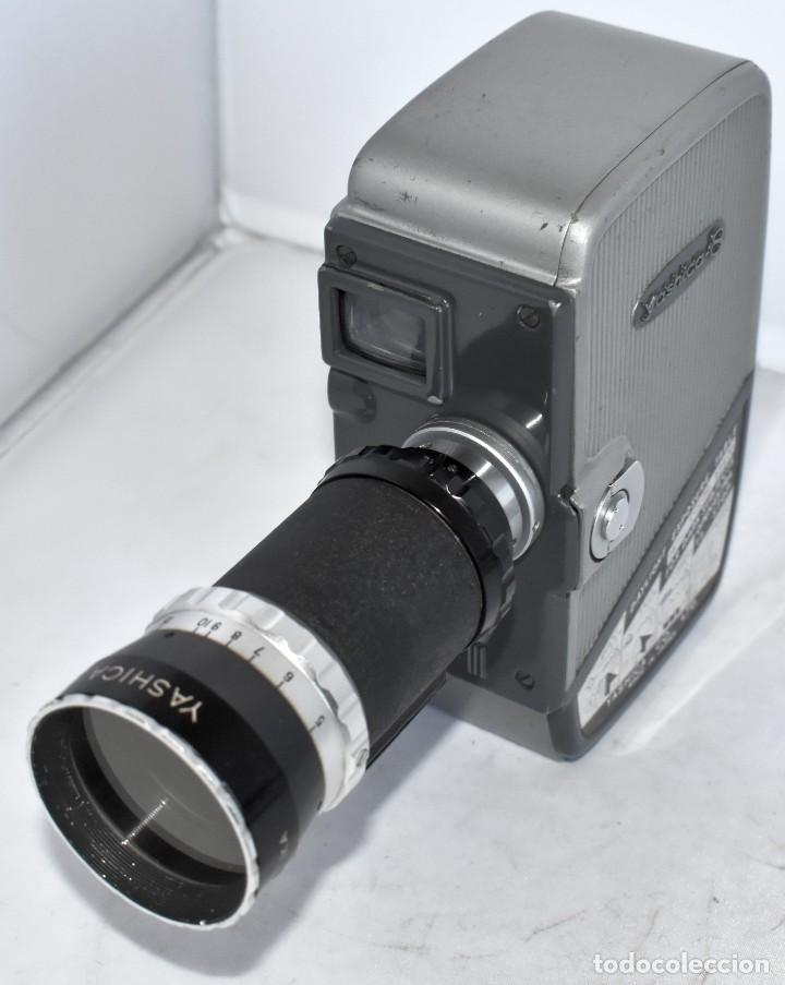 Antigüedades: EXCELENTE CAMARA DE CINE A CUERDA, 8 mm..YASHICA 8 +ZOOM LENS ..MUY BUEN ESTADO..FUNCIONA - Foto 11 - 216896463