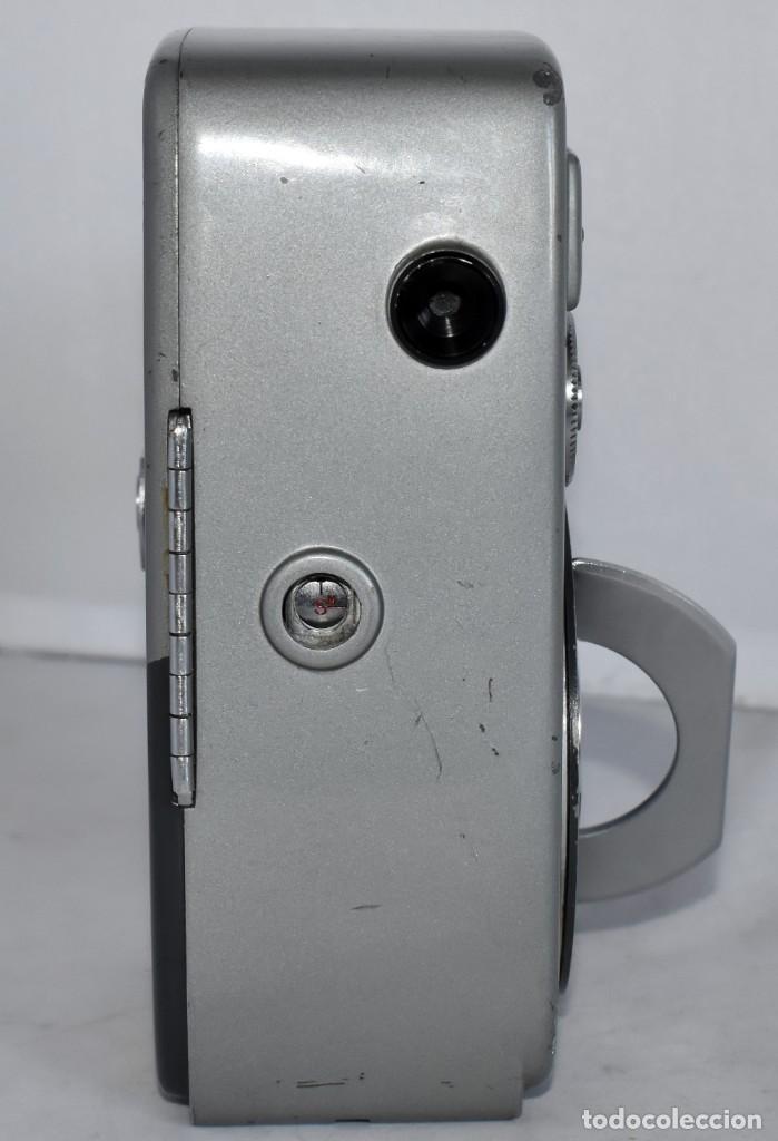 Antigüedades: EXCELENTE CAMARA DE CINE A CUERDA, 8 mm..YASHICA 8 +ZOOM LENS ..MUY BUEN ESTADO..FUNCIONA - Foto 12 - 216896463