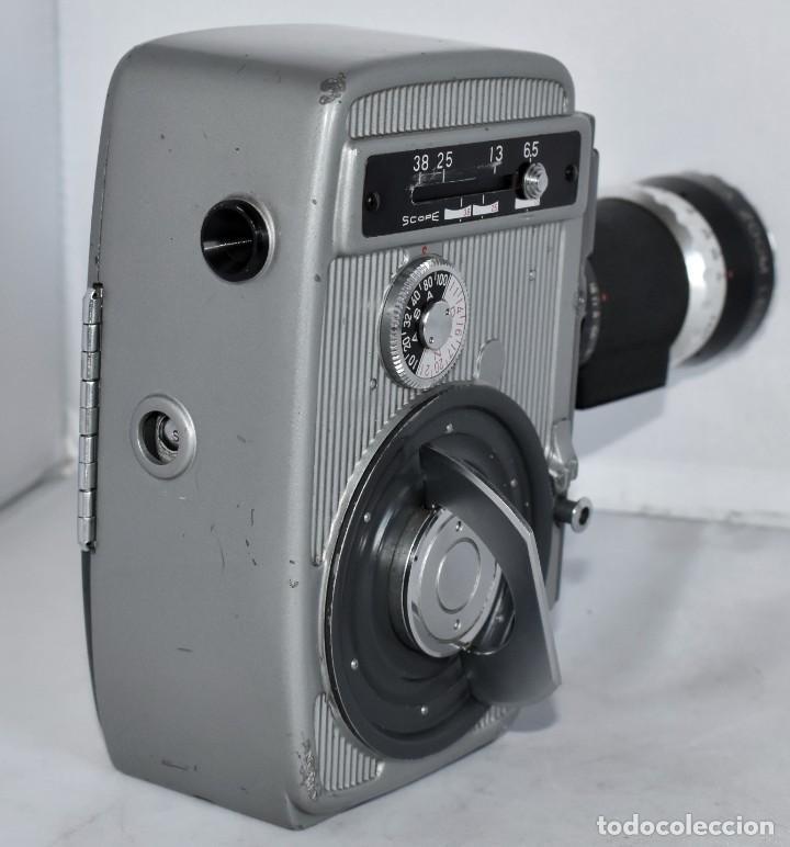 Antigüedades: EXCELENTE CAMARA DE CINE A CUERDA, 8 mm..YASHICA 8 +ZOOM LENS ..MUY BUEN ESTADO..FUNCIONA - Foto 13 - 216896463