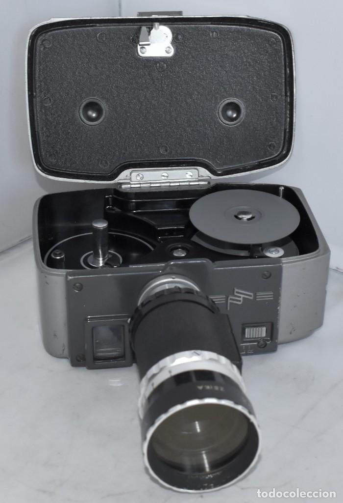 Antigüedades: EXCELENTE CAMARA DE CINE A CUERDA, 8 mm..YASHICA 8 +ZOOM LENS ..MUY BUEN ESTADO..FUNCIONA - Foto 20 - 216896463