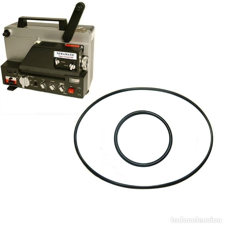 CORREA PROYECTOR CINE SUPER 8 -NERAMATIC SOUND 500 - 600 - 800 (Antigüedades - Técnicas - Aparatos de Cine Antiguo - Proyectores Antiguos)