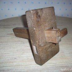 Antigüedades: ANTIGUO GRAMIL DOBLE DE CARPINTERO , EN MADERA .. Lote 216983278