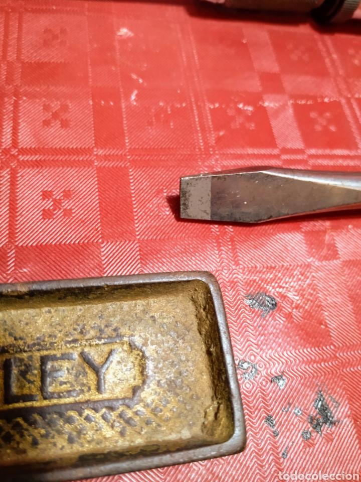 Antigüedades: Lote Stanley. Antiguas herramientas de carpintería. Todas en uso. - Foto 13 - 216997467