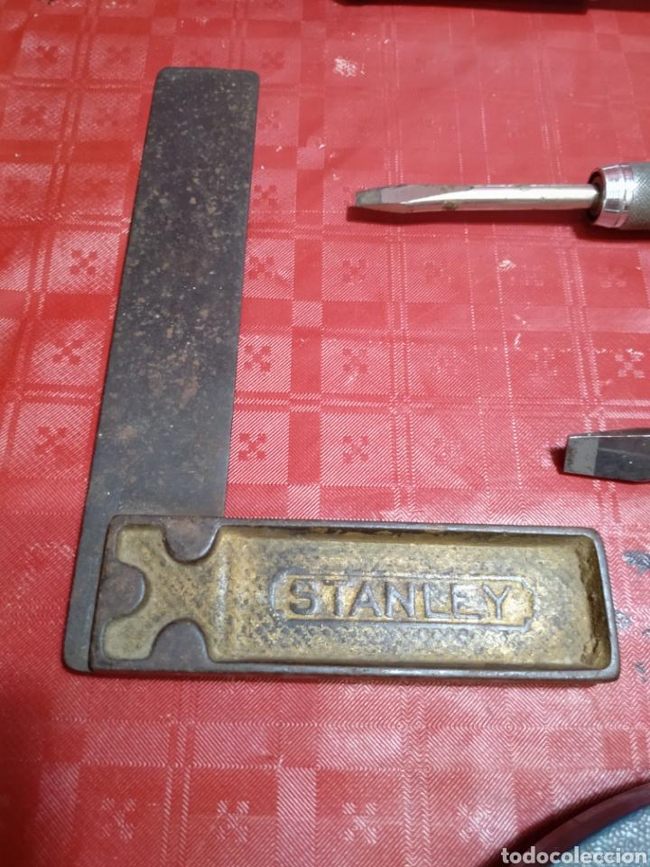 Antigüedades: Lote Stanley. Antiguas herramientas de carpintería. Todas en uso. - Foto 16 - 216997467