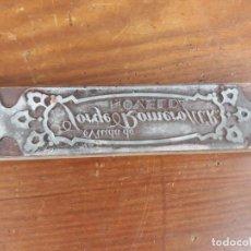 Antigüedades: SELLO VIUDA DE JORGE ROMERO NOVELDA. Lote 217017225