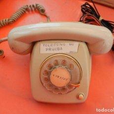 Teléfonos: ANTIGUO TELÉFONO HERALDO DE PRUEBA PARA OPERARIO - TELEFÓNICA ESPAÑA - CITESA MÁLAGA - AÑOS 60-70.. Lote 217018518