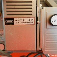 Antigüedades: RICOH AUTO 8P TRIOSCOPE - PROYECTOR DE CINE MUDO - MADE IN JAPAN - FUNCIONA - BUEN ESTADO - FOTOS.. Lote 217026787