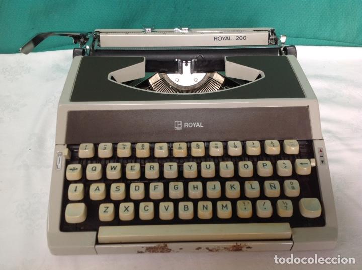 ANTIGUA MAQUINA DE ESCRIBIR ROYAL 200 (Antigüedades - Técnicas - Máquinas de Escribir Antiguas - Royal)