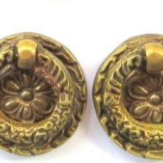 Antigüedades: TIRADORES REDONDOS PARA CAJONERAS. Lote 217063620