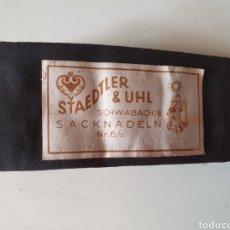 Antigüedades: ANTIGUO SOBRE DE AGUJAS STAEDTLER & UHL. Lote 217064046