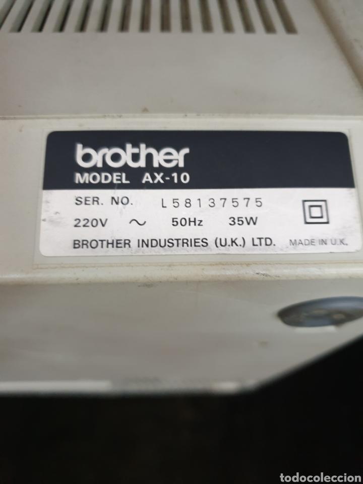 Antigüedades: Maquina eléctrica Brother AX 10 - Foto 3 - 217089080