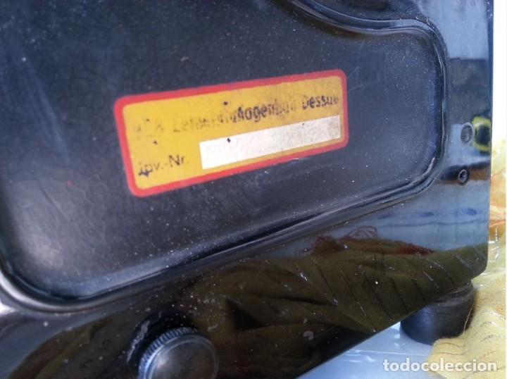 Antigüedades: Máquina escribir marca Mercedes. Antigua. Gran formato. Typewriter old - Foto 7 - 217095521