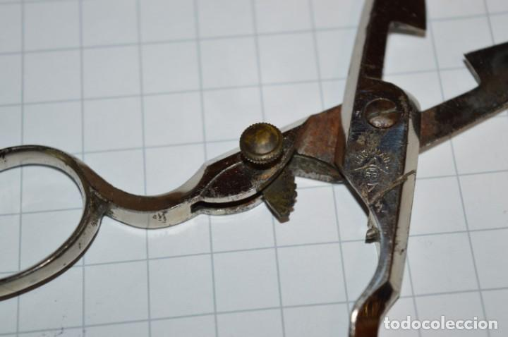 Antigüedades: Vintage - ANTIGUA TIJERAS para ojales, con graduación del corte / LUCKHAUS - Germany - ¡Mira fotos! - Foto 5 - 217101692