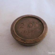 Antigüedades: PESA DE 2 ONZAS AVERY. Lote 217125952