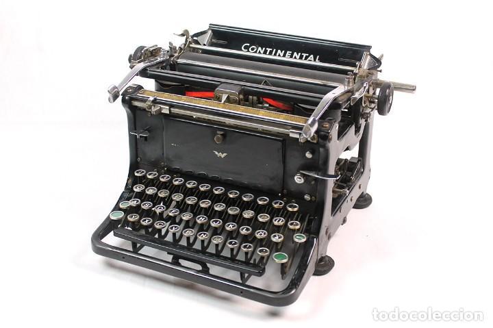 ANTIGUA MAQUINA DE ESCRIBIR CONTINENTAL. FUNCIONANDO (Antigüedades - Técnicas - Máquinas de Escribir Antiguas - Continental)