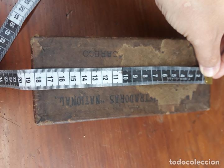 Antigüedades: PRECIOSA CAJA REGISTRADORA NATIONAL SIGLO XIX - Modelo con metal repujado - Foto 29 - 217205650