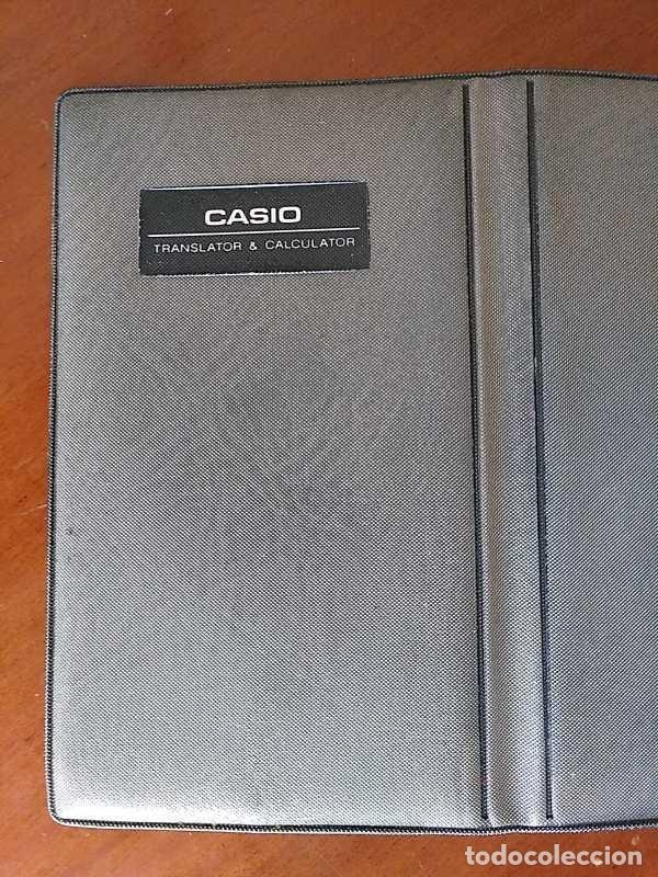 Antigüedades: CASIO TR-6000 CALCULADORA TRADUCTOR TRADUCTORA TRANSLATOR & CALCULATOR FUNCIONANDO CON FUNDA JAPAN - Foto 25 - 217244638