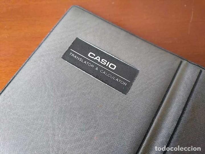 Antigüedades: CASIO TR-6000 CALCULADORA TRADUCTOR TRADUCTORA TRANSLATOR & CALCULATOR FUNCIONANDO CON FUNDA JAPAN - Foto 27 - 217244638