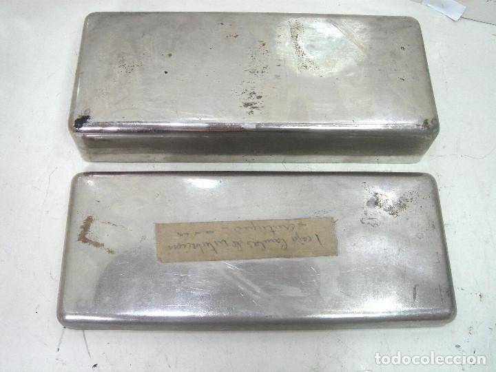 Antigüedades: ANTIGUO JUEGO MEDICO - CANULAS DE INTUBACION AÑOS 50 - INSTRUMENTAL QUIRURJICO KIT CLINICO - Foto 5 - 217274213