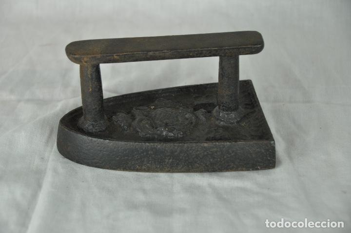 Antigüedades: Plancha de hierro DB - Foto 3 - 217335623