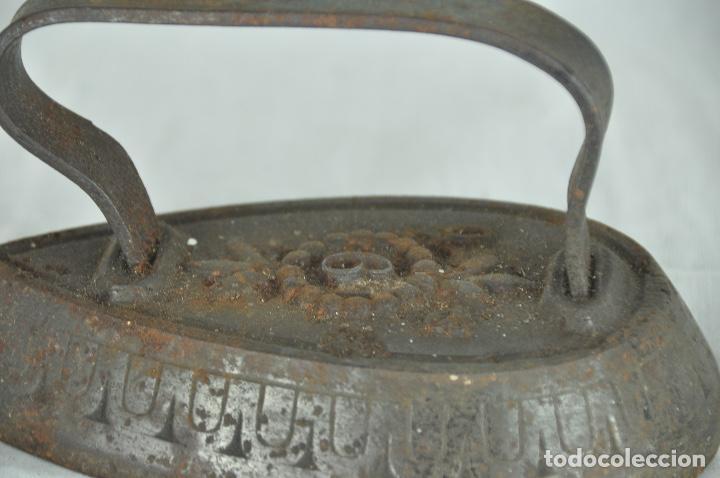 Antigüedades: Plancha de hierro SD9 - Foto 3 - 217335805