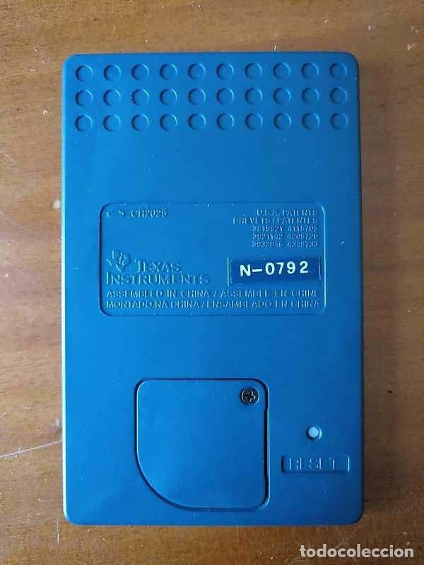 Antigüedades: TEXAS INSTRUMENTS PS-2100 DATA BANK CALCULADORA RELOJ CLOCK SCHEDULER CALCULATOR - Foto 14 - 217350226
