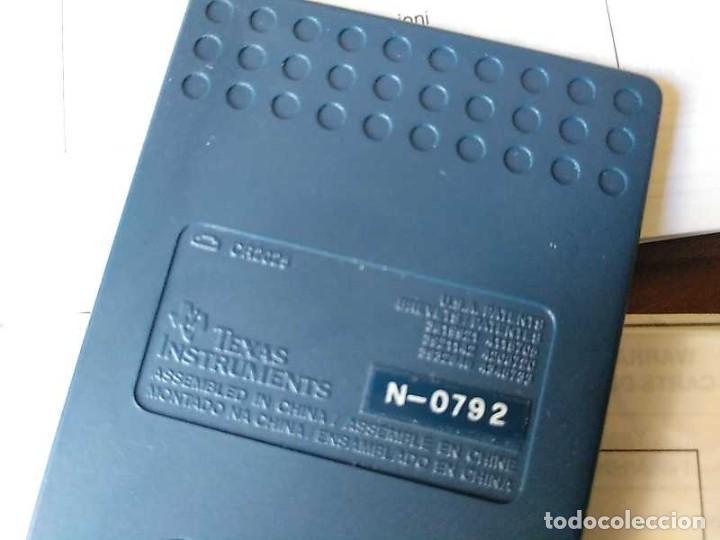 Antigüedades: TEXAS INSTRUMENTS PS-2100 DATA BANK CALCULADORA RELOJ CLOCK SCHEDULER CALCULATOR - Foto 41 - 217350226