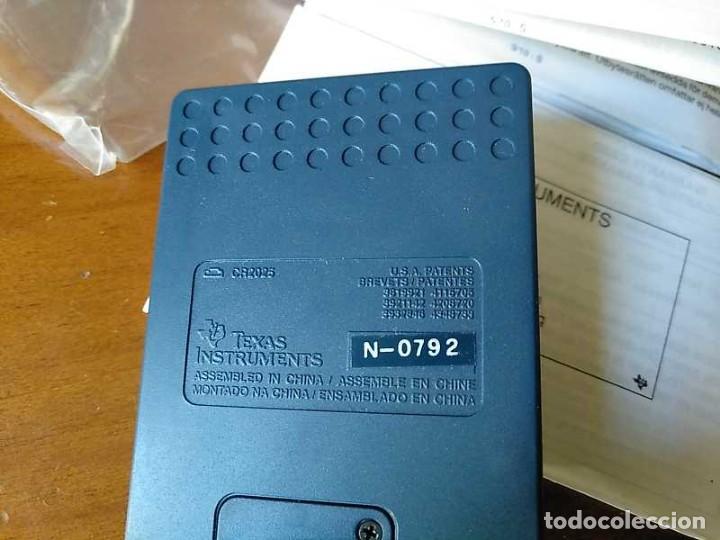 Antigüedades: TEXAS INSTRUMENTS PS-2100 DATA BANK CALCULADORA RELOJ CLOCK SCHEDULER CALCULATOR - Foto 42 - 217350226
