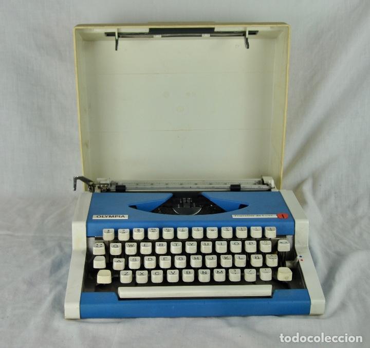MÁQUINA DE ESCRIBIR OLYMPIA TRAVELLER DE LUXE (Antigüedades - Técnicas - Máquinas de Escribir Antiguas - Otras)