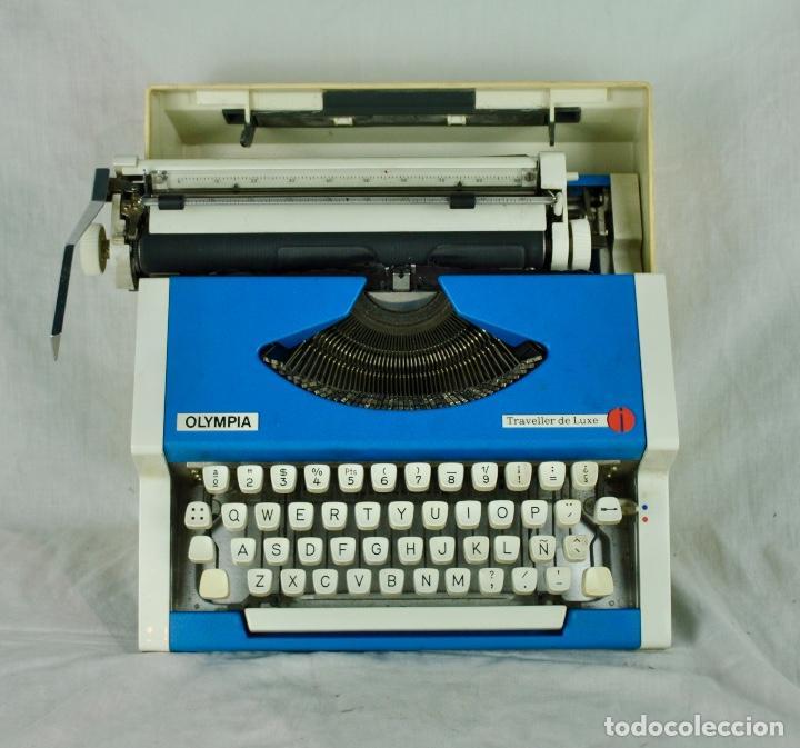 Antigüedades: Máquina de escribir Olympia Traveller de Luxe - Foto 7 - 217354270