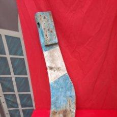 Antiquités: ANTIGUA PALA DE TIMÓN DE BARCO. Lote 217365298