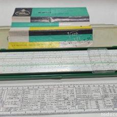 Oggetti Antichi: REGLA DE CALCULO FABER CASTELL CASTELL-BIPLEX 2/82 CON INSTRUCCIONES EN SU CAJA ORIGINAL.. Lote 217412300