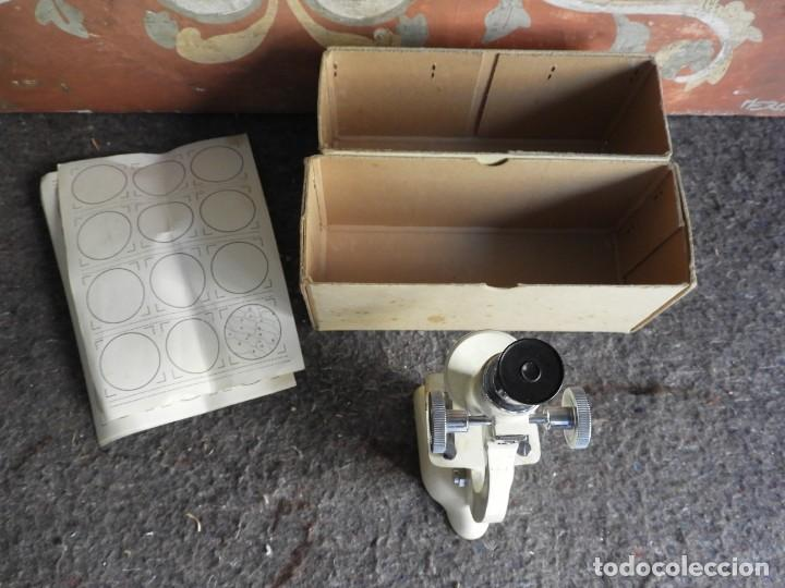 Antigüedades: MICROSCOPIO DE VIAJE OPTICO PARIS - Foto 8 - 217501796
