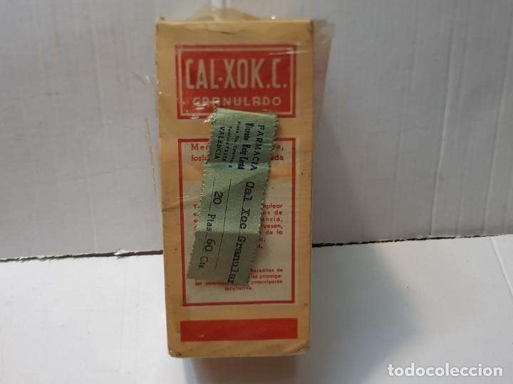 FARMACIA ANTIGUO MEDICAMENTO CAL-XOK.C. LABORATORIOS FERRE SERRA 30-40 SIN ABRIR (Antigüedades - Técnicas - Herramientas Profesionales - Medicina)