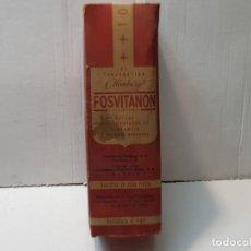 Antigüedades: FARMACIA ANTIGUO MEDICAMENTO FOSVITANON LABORATORIOS GUSTAVO REDER 30-40 SIN ABRIR. Lote 217511101