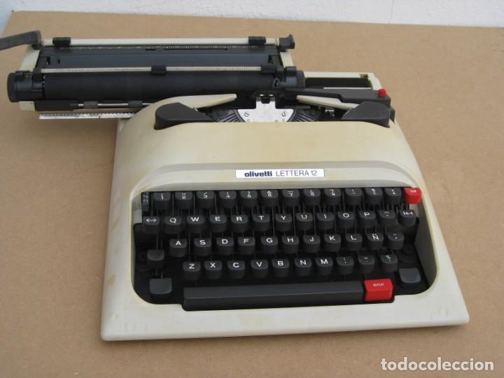Antigüedades: Maquina escribir Olivetti Lettera 12 - Foto 5 - 217514635