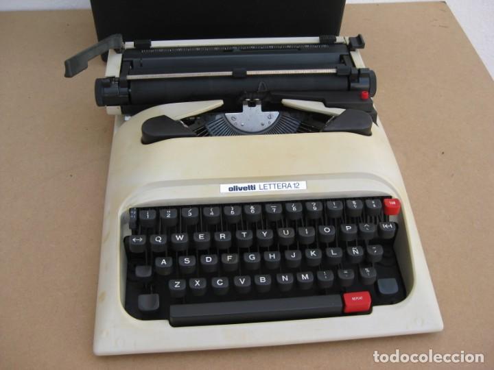 Antigüedades: Maquina escribir Olivetti Lettera 12 - Foto 11 - 217514635