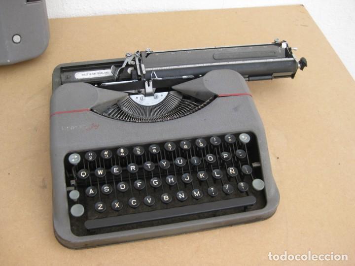 Antigüedades: Maquina escribir antigua. Hermes Baby. Suisse. - Foto 6 - 217529957