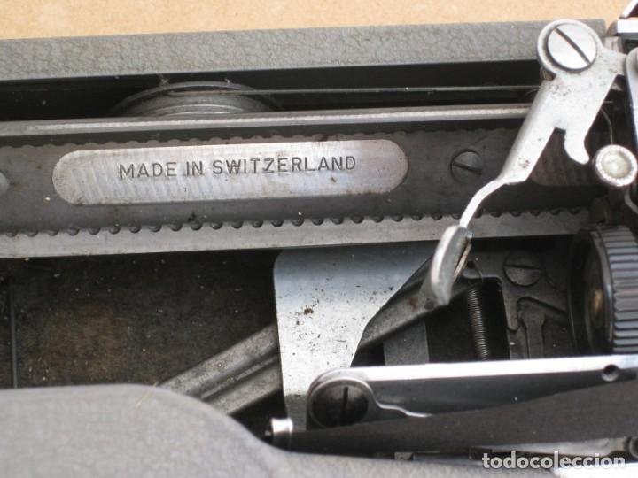 Antigüedades: Maquina escribir antigua. Hermes Baby. Suisse. - Foto 7 - 217529957