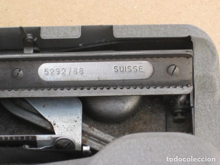 Antigüedades: Maquina escribir antigua. Hermes Baby. Suisse. - Foto 9 - 217529957