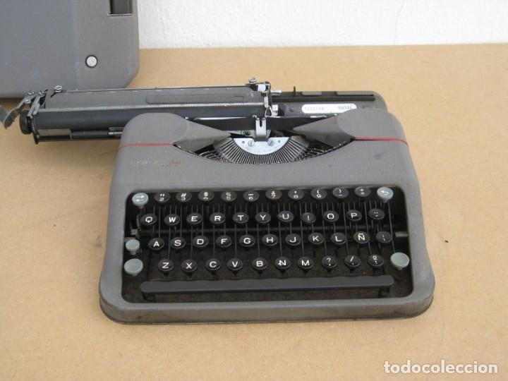 Antigüedades: Maquina escribir antigua. Hermes Baby. Suisse. - Foto 10 - 217529957