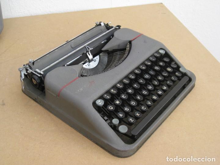 Antigüedades: Maquina escribir antigua. Hermes Baby. Suisse. - Foto 11 - 217529957