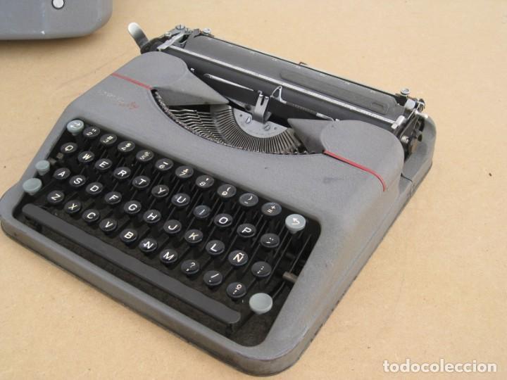Antigüedades: Maquina escribir antigua. Hermes Baby. Suisse. - Foto 12 - 217529957