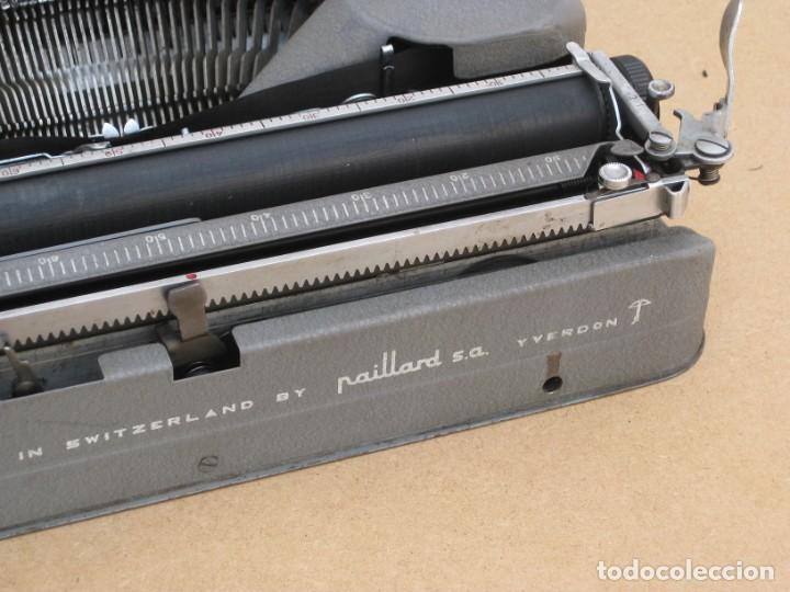 Antigüedades: Maquina escribir antigua. Hermes Baby. Suisse. - Foto 17 - 217529957